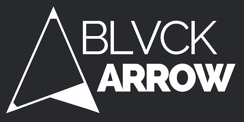 Black Arrow Logo White